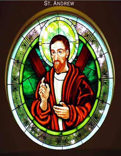 St. Andrew Kits Glass Church Project