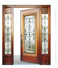 Wrought Iron Door VLE 6406