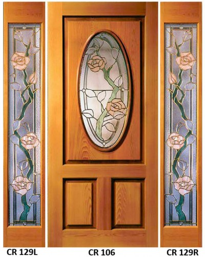 Stained Glass Gardenview Climbing Rose Design CR-300