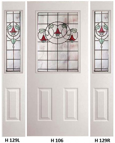 Stained Glass Gardenview Heritage Design H-106