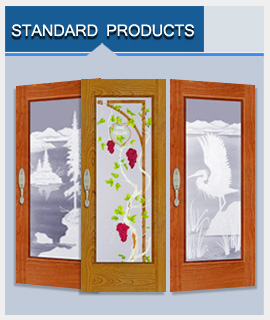 Click to seeStandard Carved Sandblasted Products