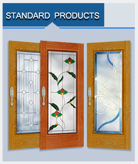 Click to see Standard Stained Glass Products Page