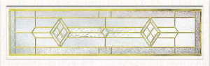 Stained Glass Accent Bantry Design ba-tr-6412
