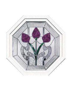Stained Glass Accent Bourdeaux bo-oct-2020 Design
