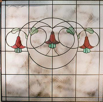 Stained Glass Gardenview Heritage Design H106 Detail