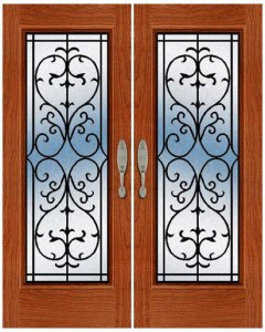 Wrought Iron Door ir-a-1002