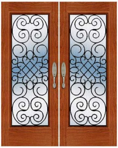 Wrought Iron Door ir-a-1003