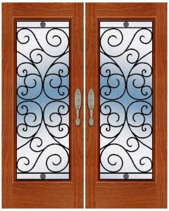 Wrought Iron Door ir-a-1004