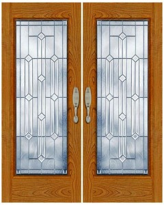 Stained Glass Door SG1001