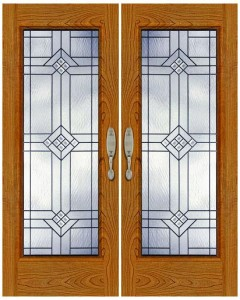 Stained Glass Door SG1003