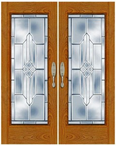 Stained Glass Door SG1004
