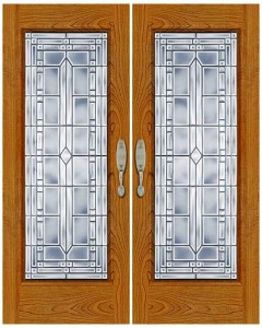 Stained Glass Door SG1006