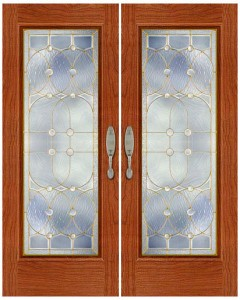 Stained Glass Door SG1007
