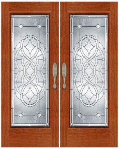 Stained Glass Door SG1010