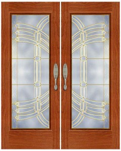 Stained Glass Door SG1012