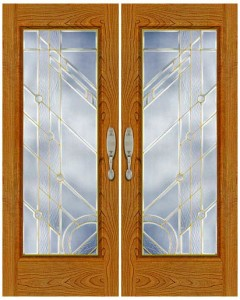 Stained Glass Door SG1013