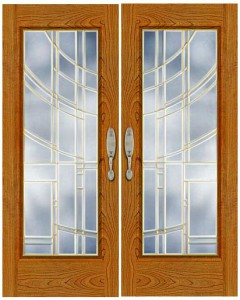 Stained Glass Door SG1015