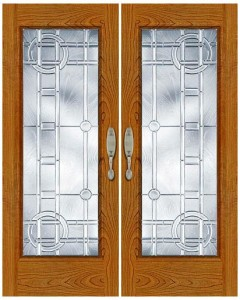 Stained Glass Door SG1016