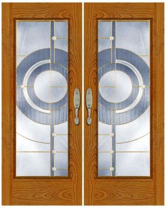 Stained Glass Door SG1017
