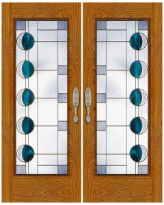 Stained Glass Door SG1018