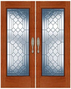 Stained Glass Door SG1019