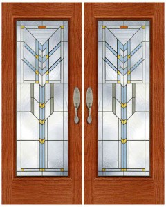 Stained Glass Door SG1022