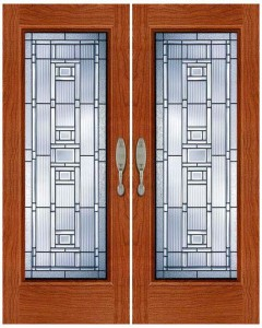 Stained Glass Door SG1023