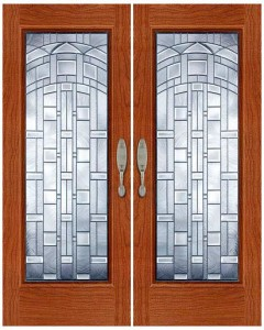 Stained Glass Door SG1024