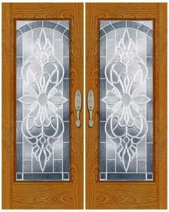 Stained Glass Door SG1025