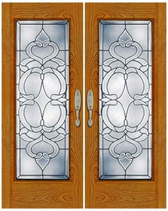 Stained Glass Door SG1026