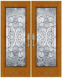 Stained Glass Door SG1027