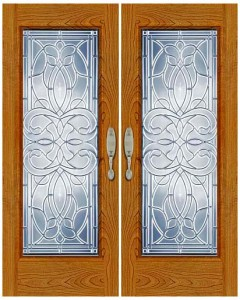 Stained Glass Door SG1029