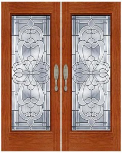 Stained Glass Door SG1031