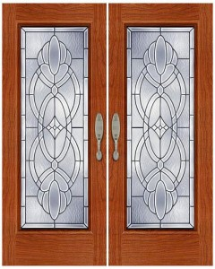 Stained Glass Door SG1034