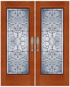 Stained Glass Door SG1035