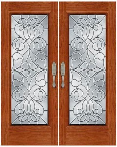 Stained Glass Door SG1036