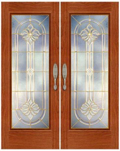 Stained Glass Door SG1043