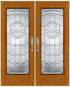 Stained Glass Door SG1050
