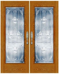 Stained Glass Door SG1053