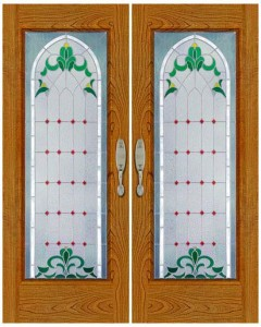 Stained Glass Door SG1054