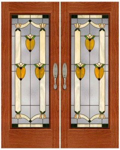 Stained Glass Door SG1055