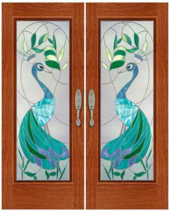 Stained Glass Door SG1056