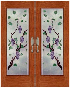 Stained Glass Door SG1057
