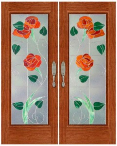 Stained Glass Door SG1058