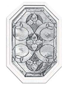 Stained Glass Accent York Design y-eloct-2028