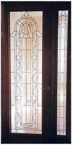 Custom Stained Glass Classic French Door