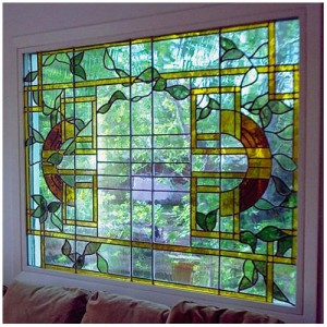 Vine Custom Stained Glass